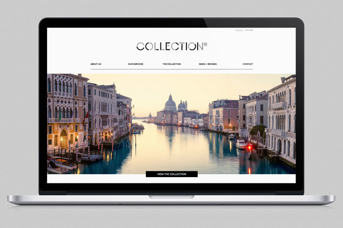 colllection-website-design